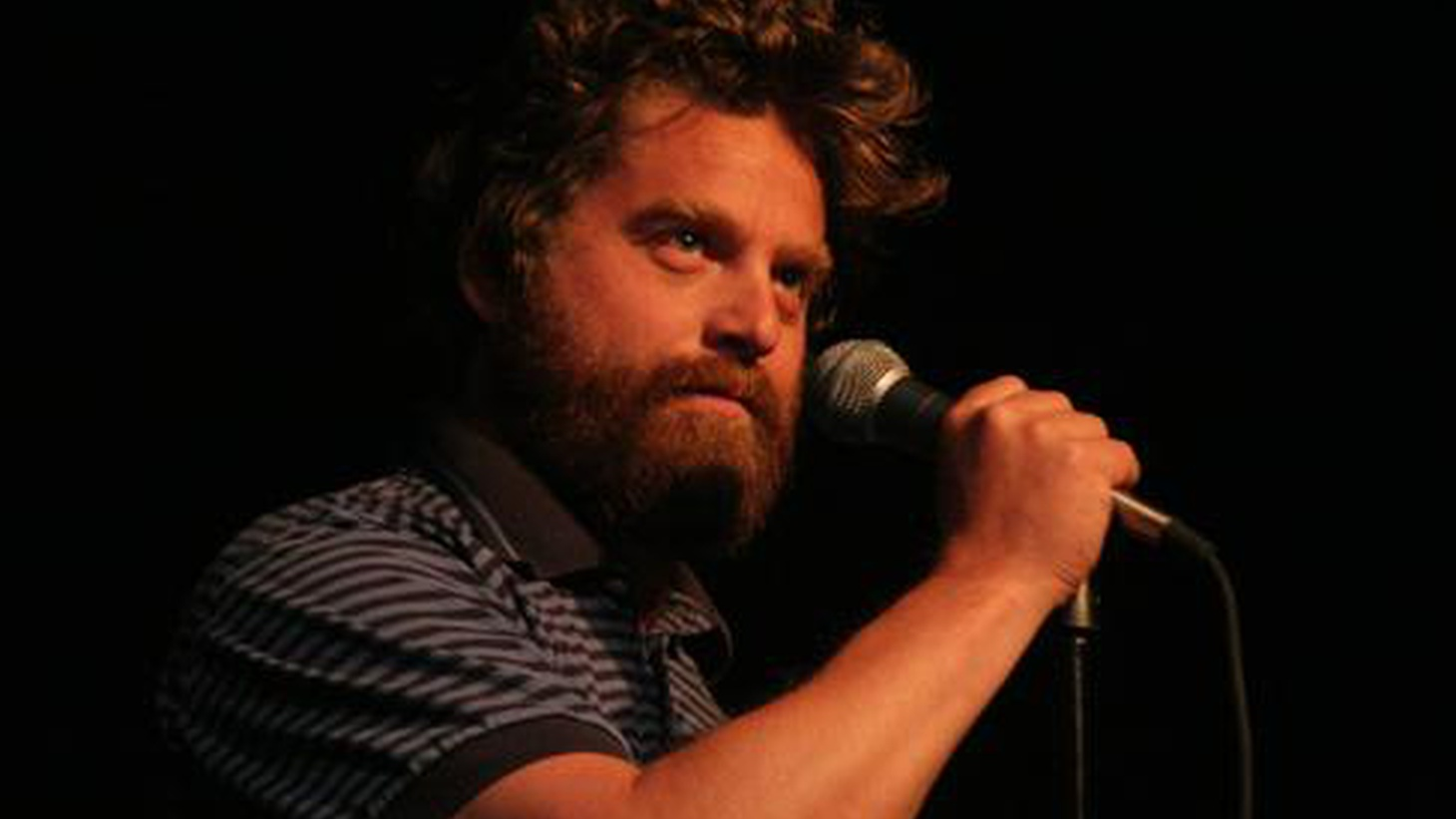 Zach Galifianakis may be one of the funniest guys around, but he takes music seriously. He shares his favorite fun-loving band, some poetic campfire music, as well as his pick for the best screamer in rock and roll right now. He also tells us about the greatest concert he's ever seen.