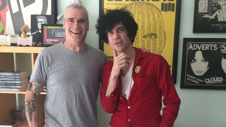 Henry Rollins with guest host Ian Svenonius