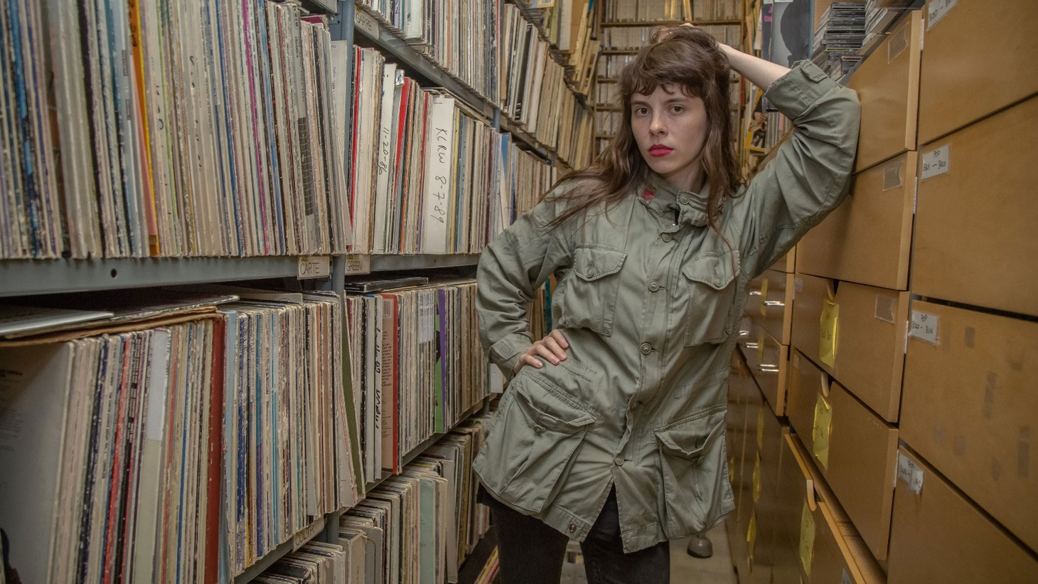 Teresa Suarez -- aka Teri Gender Bender of the Mexican garage punk band Le Butcherettes -- will be stopping by the studio for a Guest DJ set. She'll be selecting tunes for the entire show, including a lot of tracks from Mexico and France.