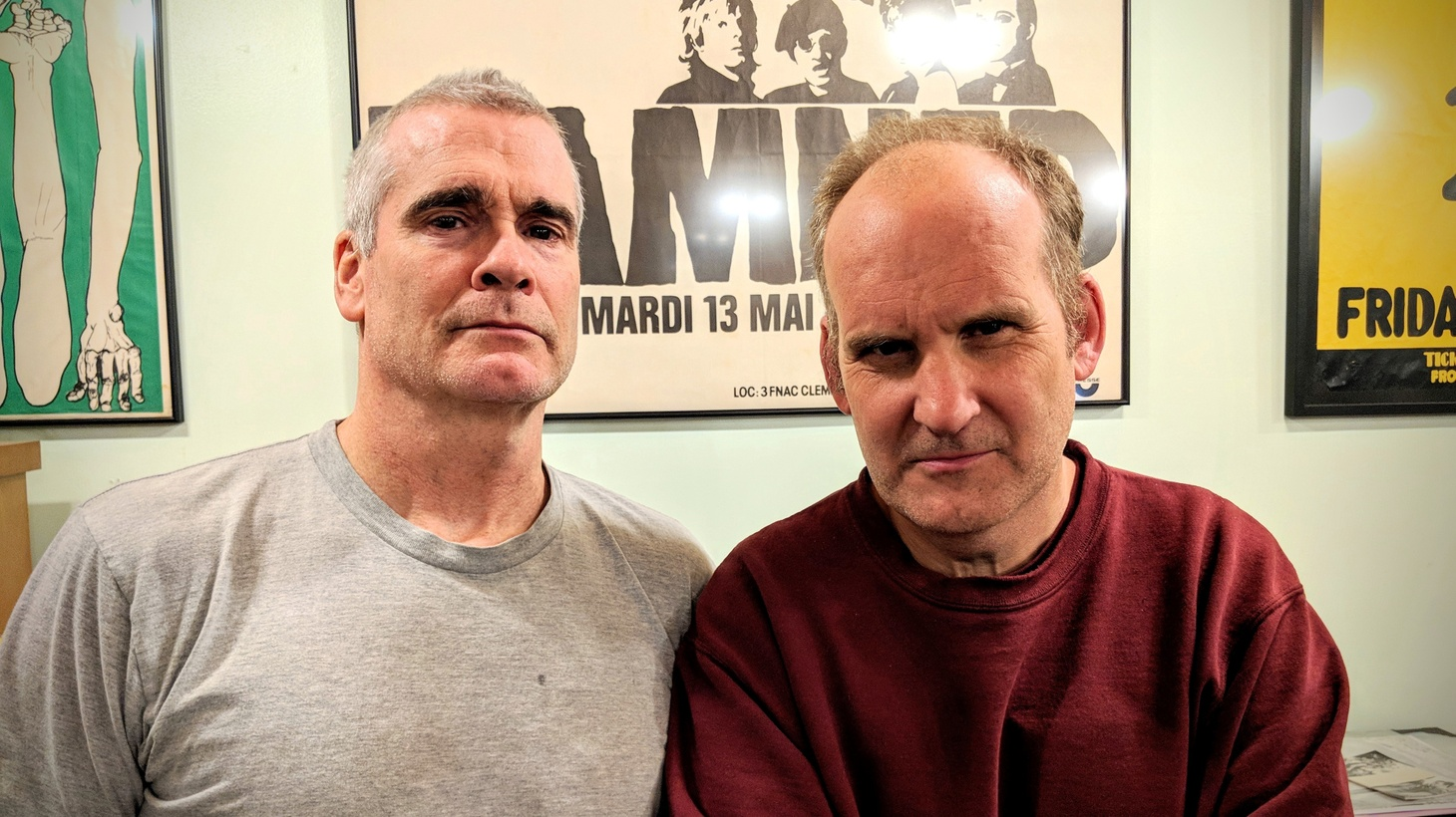 Two independent music veterans. One studio. Henry Rollins is joined by his good friend Ian MacKaye (Fugazi, Minor Threat, Dischord Records) as they    recap stories from the 1981 Black Flag tour of Europe    in this special Guest DJ set.