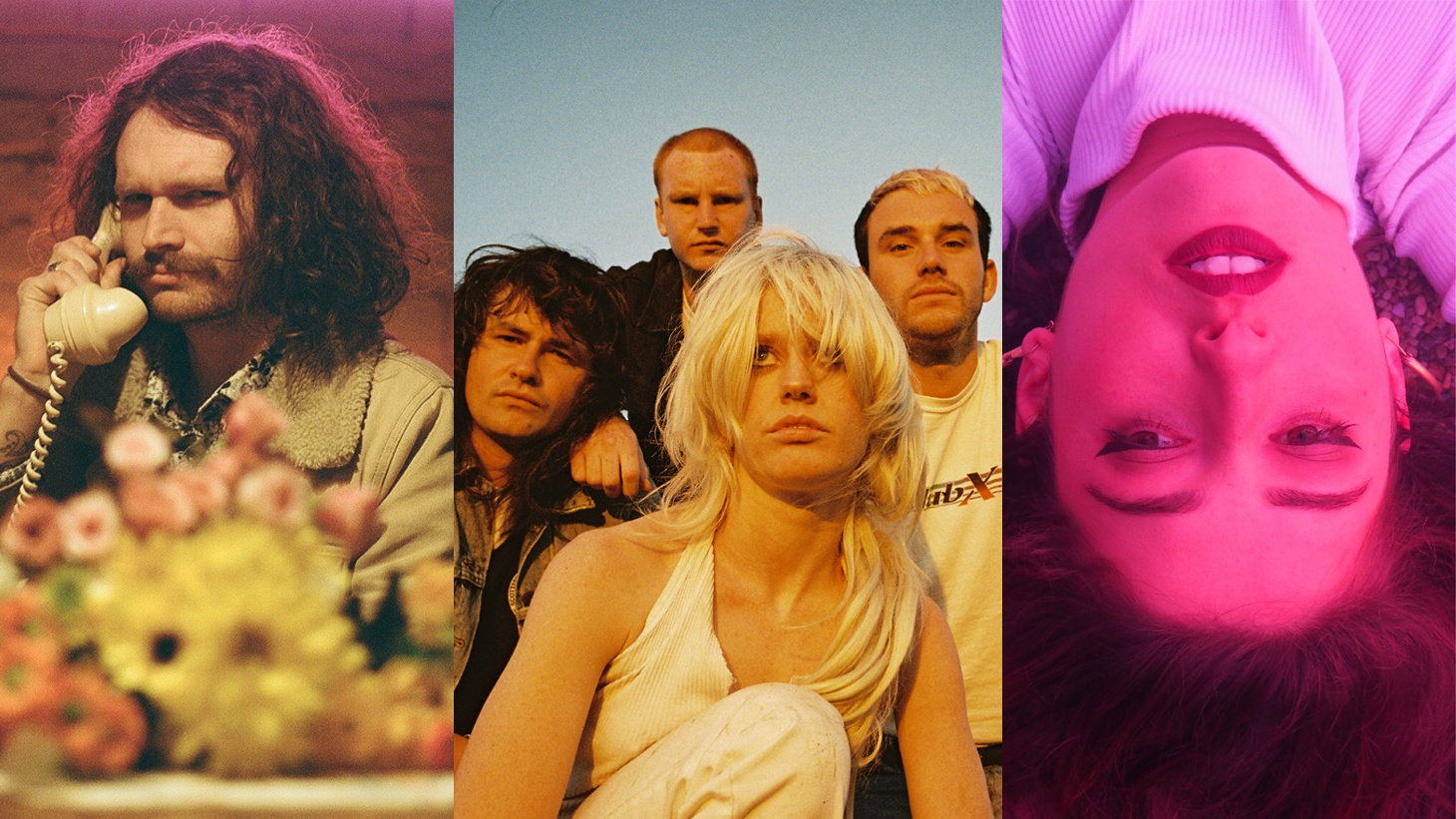 The Florets, Amyl and the Sniffers and Gabriella Cohen.