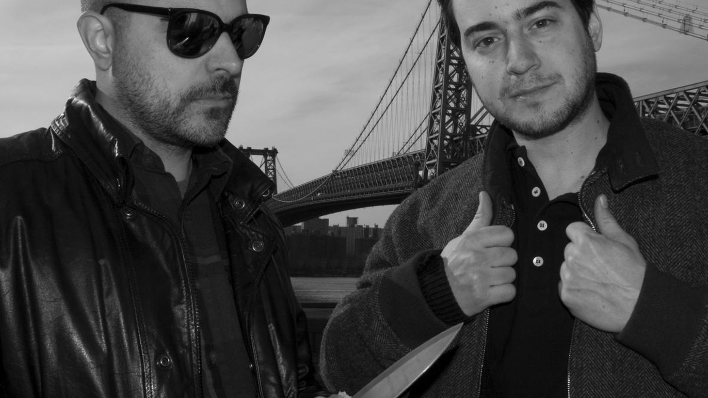 """Runaway is the collaboration between DJs Jacques Renault and Marcos Cabral, whose tribal disco house sound is so sincere, intense, and DIY that they've been a key ingredient in DFA's second wave. Their """"Brooklyn Club Jam"""" single was widely-considered one of 2008's sickest bangers, 2009 found them remixing a slew of tracks, and 2010 will see the arrival of their debut album."""