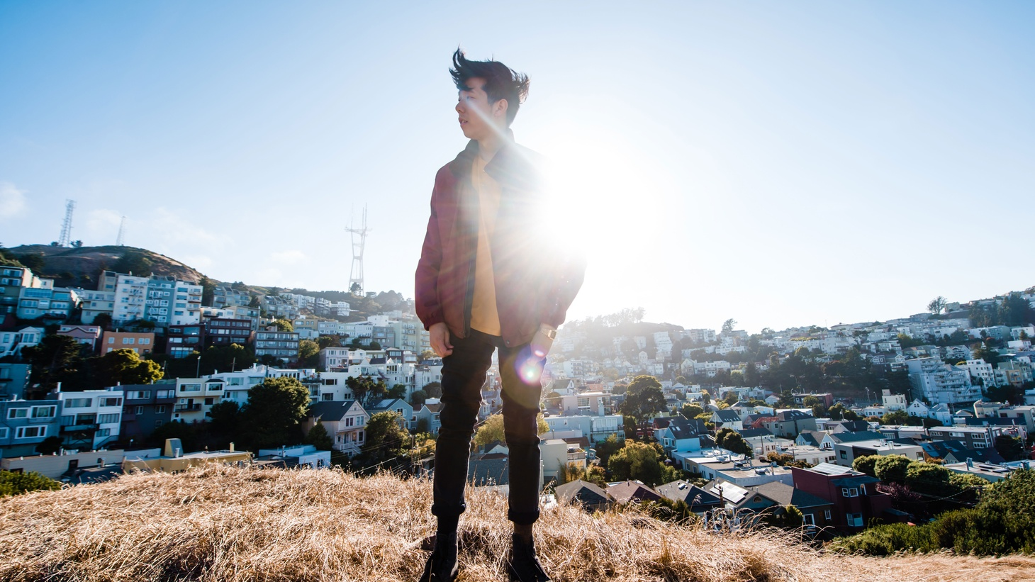 San Francisco-based producer Giraffage (Charlie Yin), whose dreamy synth-pop productions have appointed him one of electronic music's most refreshing and innovative producers.