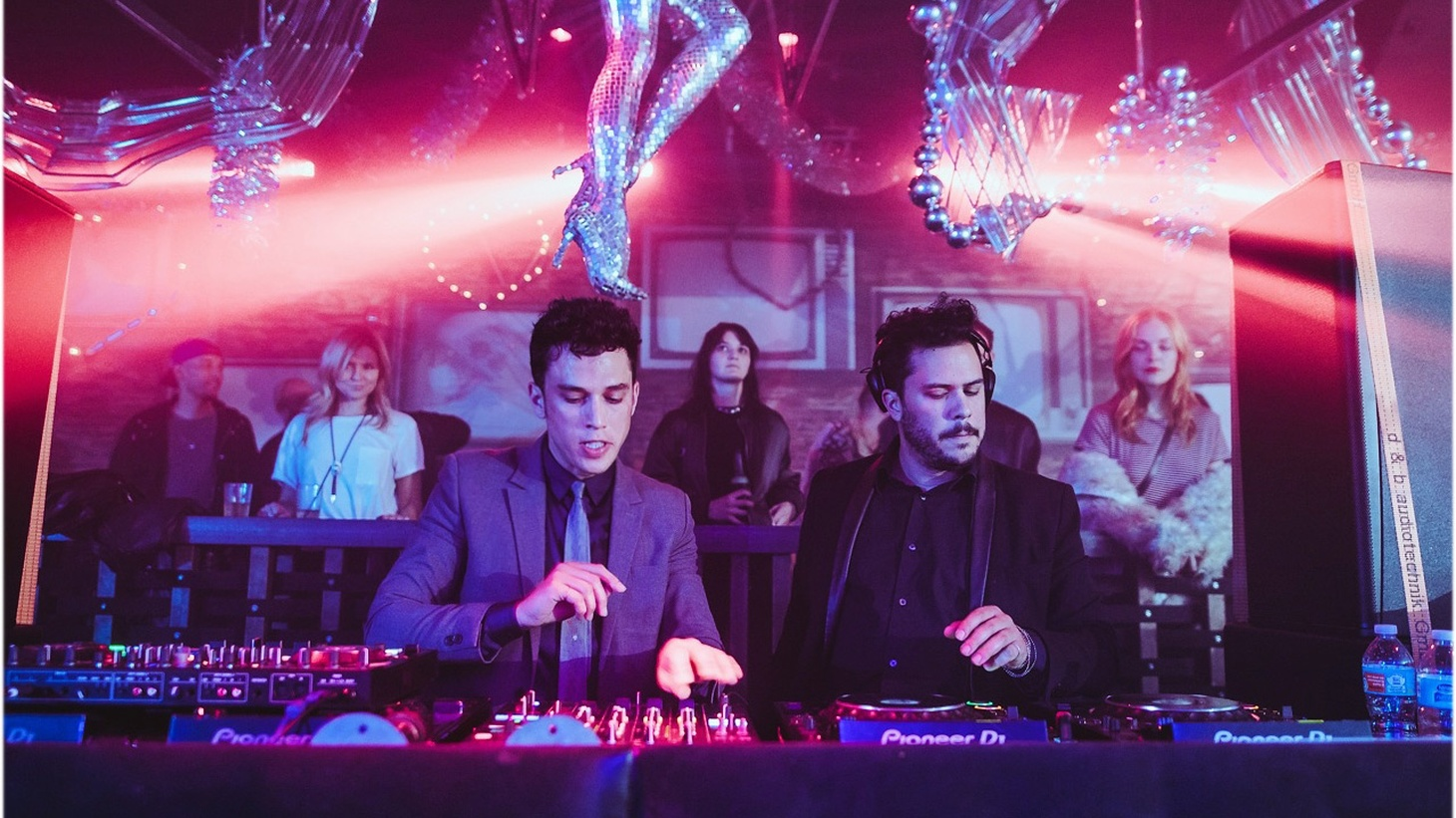 Disc jockey duo Goddollars and Paradise are perennially falling deeply in love with yet another glitter-strewn dance floor.