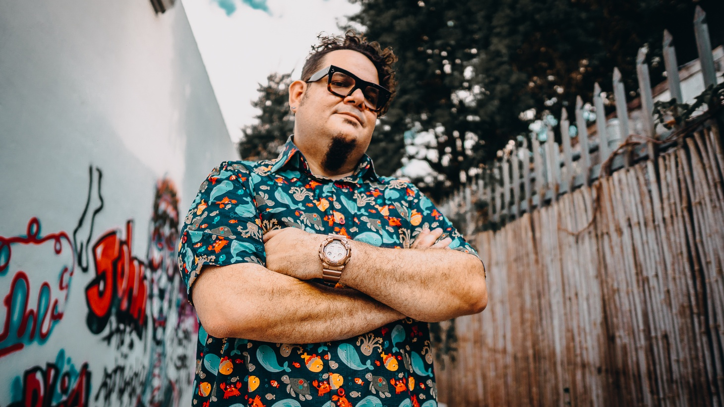 """In Latin electrónica, DJ/Producer Mr. Pauer is considered a pioneer. He's credited as the creator of """"Electrópico"""", a fusion of electronic dance music with the sounds of Salsa, Zouk, Reggae, Cumbia, Dancehall, Merengue, and Kuduro."""
