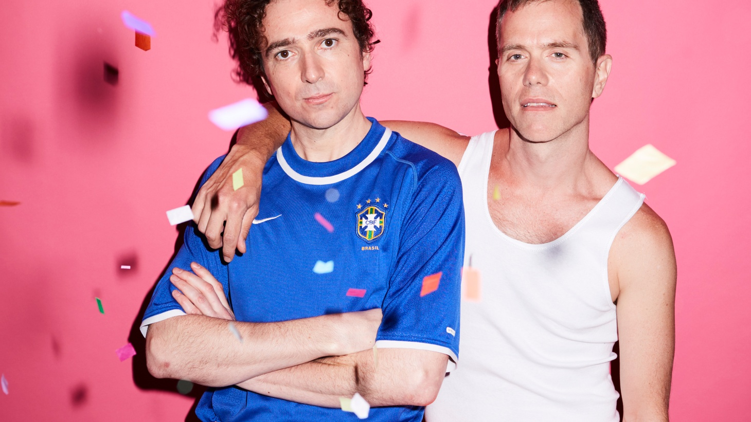 The Presets took shape in 2003 when Julian Hamilton and Kim Moyes first met, as fellow musicians at the Sydney Conservatorium of Music.