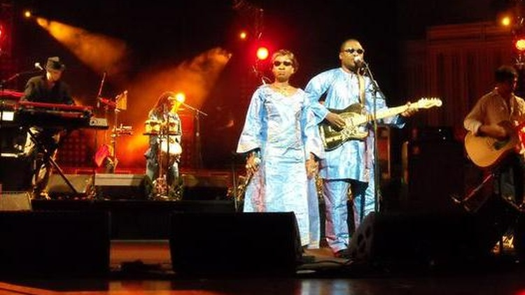 Musical husband and wife duo Amadou & Mariam will bring the modern sound of Mali to KCRW airwaves when they join Morning Becomes Eclectic at 11:15am.