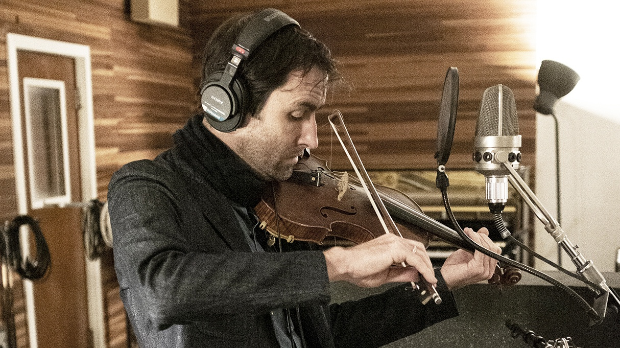 Andrew Bird recorded his new album My Finest Work Yetlive to tape at two renowned LA studios - Sound City and Barfeoot Studio.