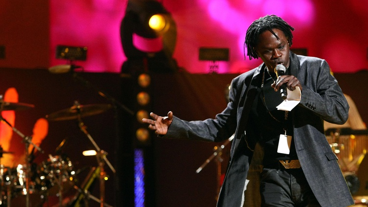 Senegalese superstar Baaba Maal's music has been featured on KCRW's airwaves since the 80's.