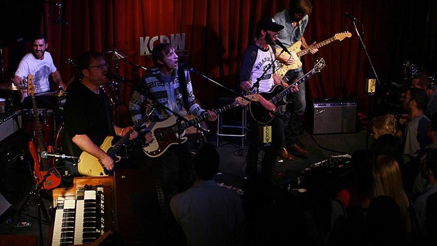 KCRW was able to corral Band of Horses to perform a career-spanning set in the intimate setting of KCRW's Apogee Sessions just a couple of weeks ago.