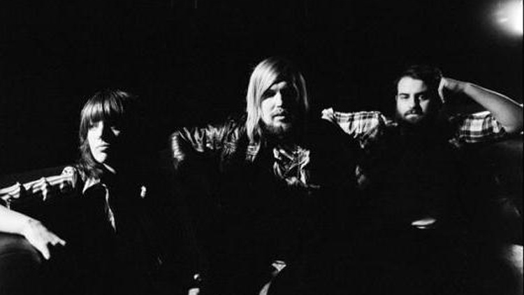 English trio Band of Skulls craft gritty bluesy rock for Morning Becomes Eclectic at 11:15am.
