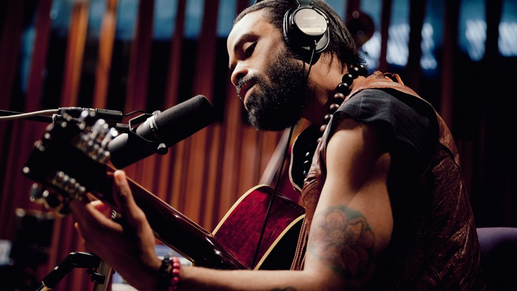 Soul crusader Bilal shares a one-of-a-kind performance for KCRW, guest hosted by Anthony Valadez. Don't miss it!