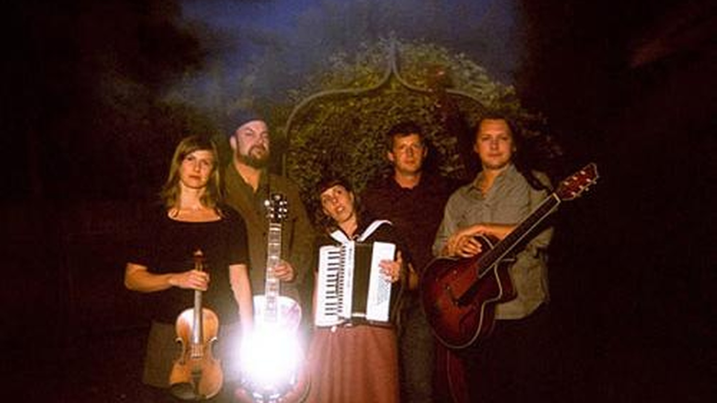 Members of The Decemberists have teamed up on a new project playing instrumental string band music. Expect to hear a lot of dobro, accordian and more when Black Prairie bring their unplugged sound to Morning Becomes Eclectic at 11:15am.