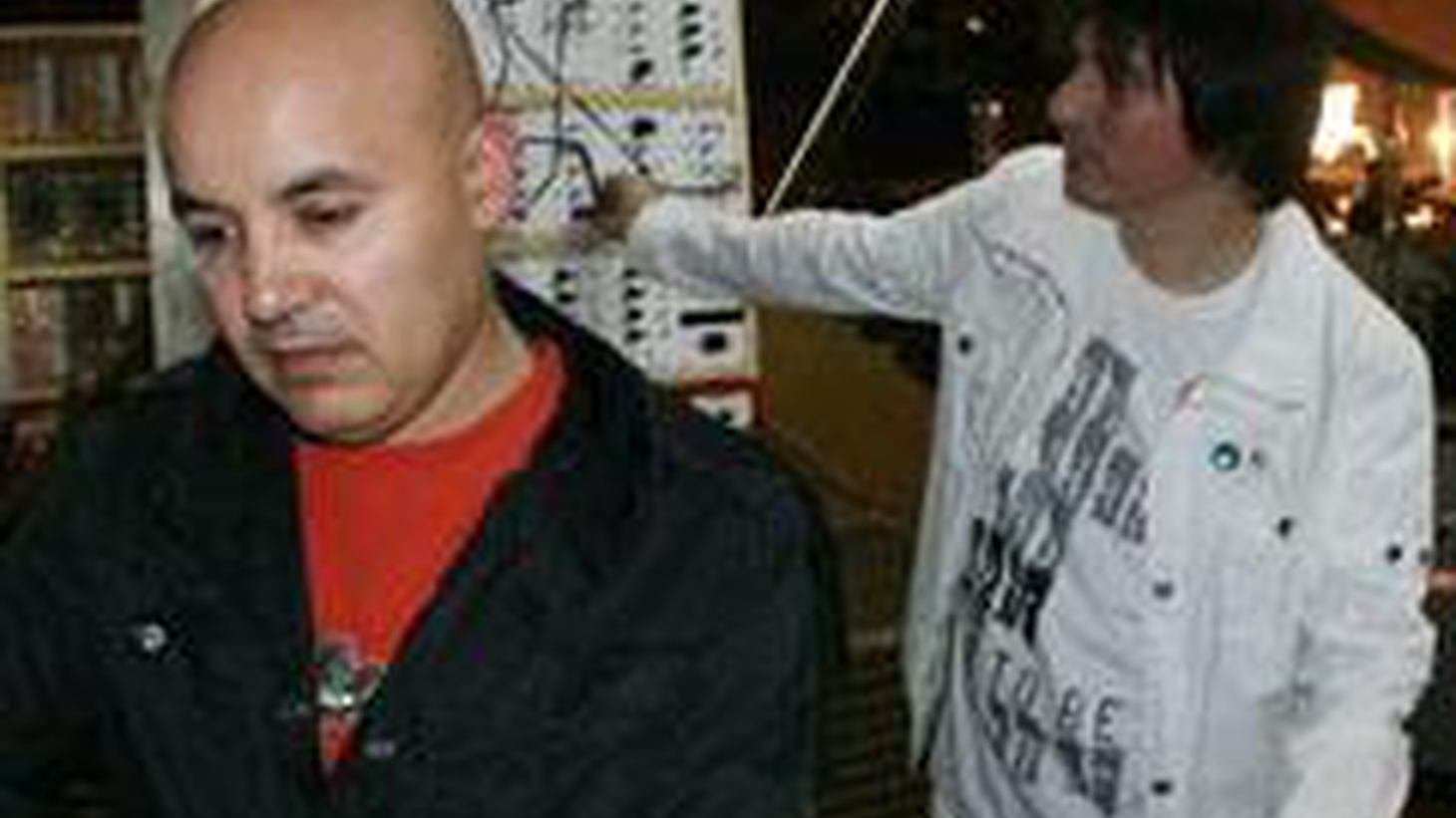Nortec Collective members, Bostich and Fussible, mix the sounds of Tijuana on Morning Becomes Eclectic at 11:15am.