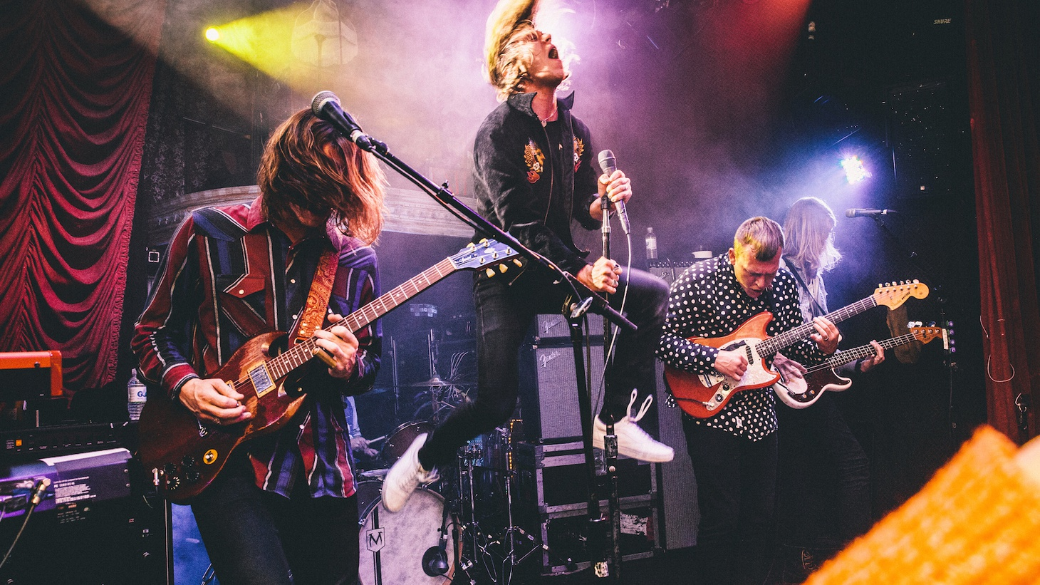 Kentucky rockers Cage the Elephant are now based in Nashville and turned to one of the city's most celebrated musical residents -- the Black Keys' Dan Auerbach – to produce their fourth album.