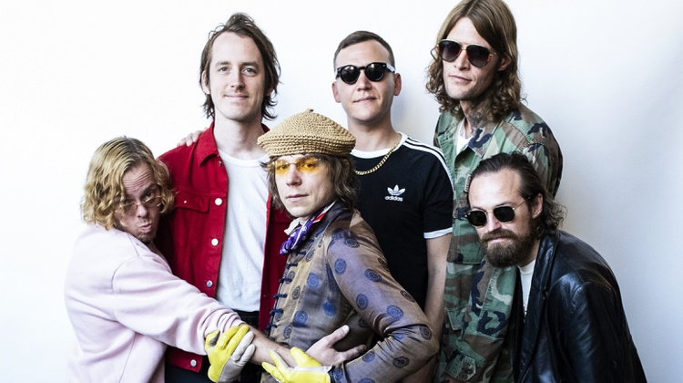 Cage the Elephant recently visited KCRW where they played a set of new songs from their latest album Social Cues.