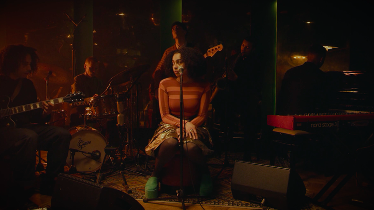 Watch soul powerhouse Celeste perform on KCRW, and tell us why she's 'not your muse'