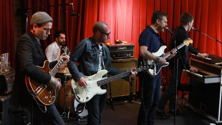 Cold War Kids' raw brand of bluesy rock sounded fantastic in a session taped at Apogee's Berkeley Street Studio in front of a live audience.