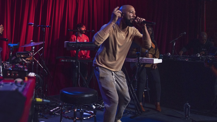 Rapper, actor, writer and philanthropist Common treated a small crowd of guests to a whirlwind performance at KCRW's Apogee Sessions last month.