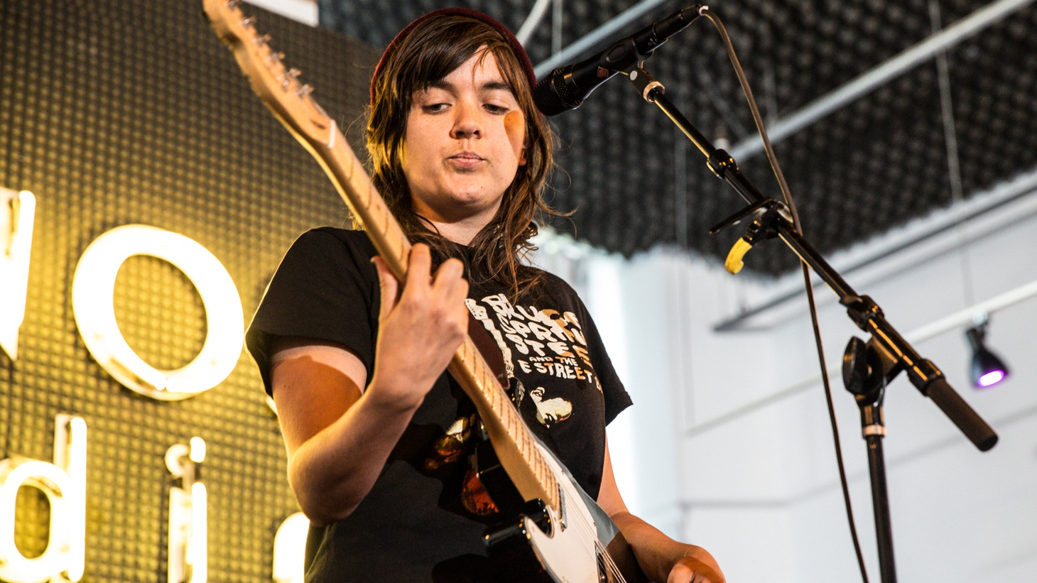 KCRW caught up with critically-acclaimed Australian singer/guitarist Courtney Barnett as she prepared to play one of the biggest shows of her career at the Hollywood Bowl.