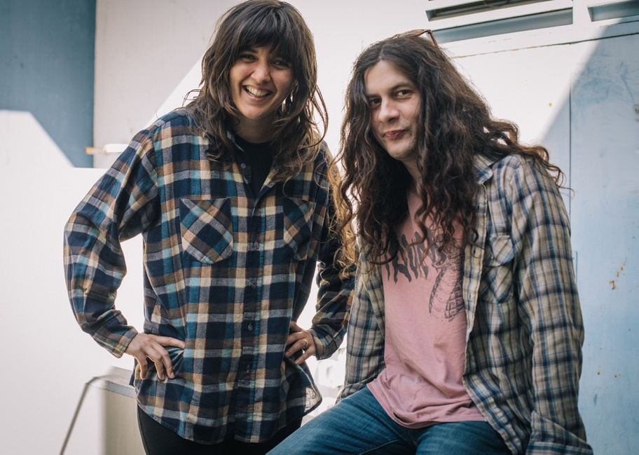 Courtney Barnett and Kurt Vile