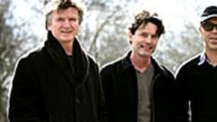 New Zealanders Crowded House have reunited and will perform on Morning Becomes Eclectic at 11:15am.