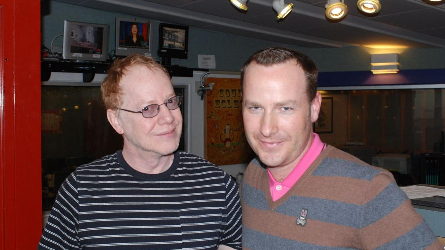 Film composer Danny Elfman scored the new Cirque du Soleil show, Iris, at the Kodak Theater.