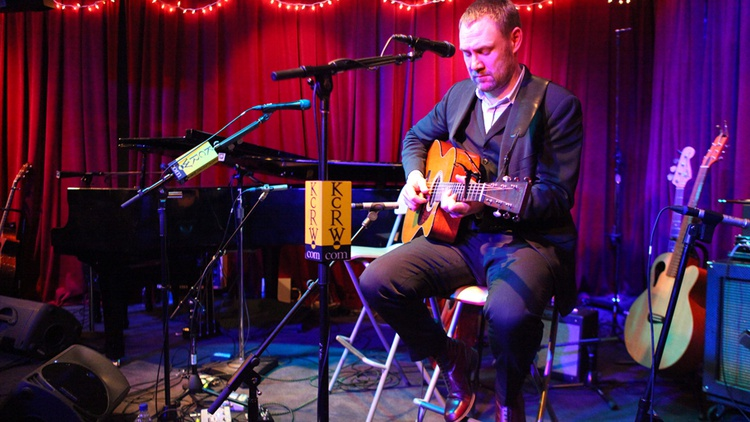 Singer David Gray recorded at KCRW's Apogee Sessions for a live audience. It's an intriguing interview and a captivating performance from a favorite KCRW artist.