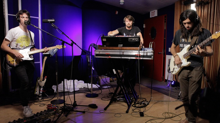 They've concocted the perfect mix of disco, post-punk and funk on their sophomore album. We welcome De Lux in the studio for a live set.