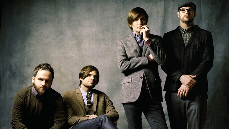 Seminal indie rockers Death Cab for Cutie performed tracks from their new release and old favorites for a small live audience at KCRW's Apogee Sessions.