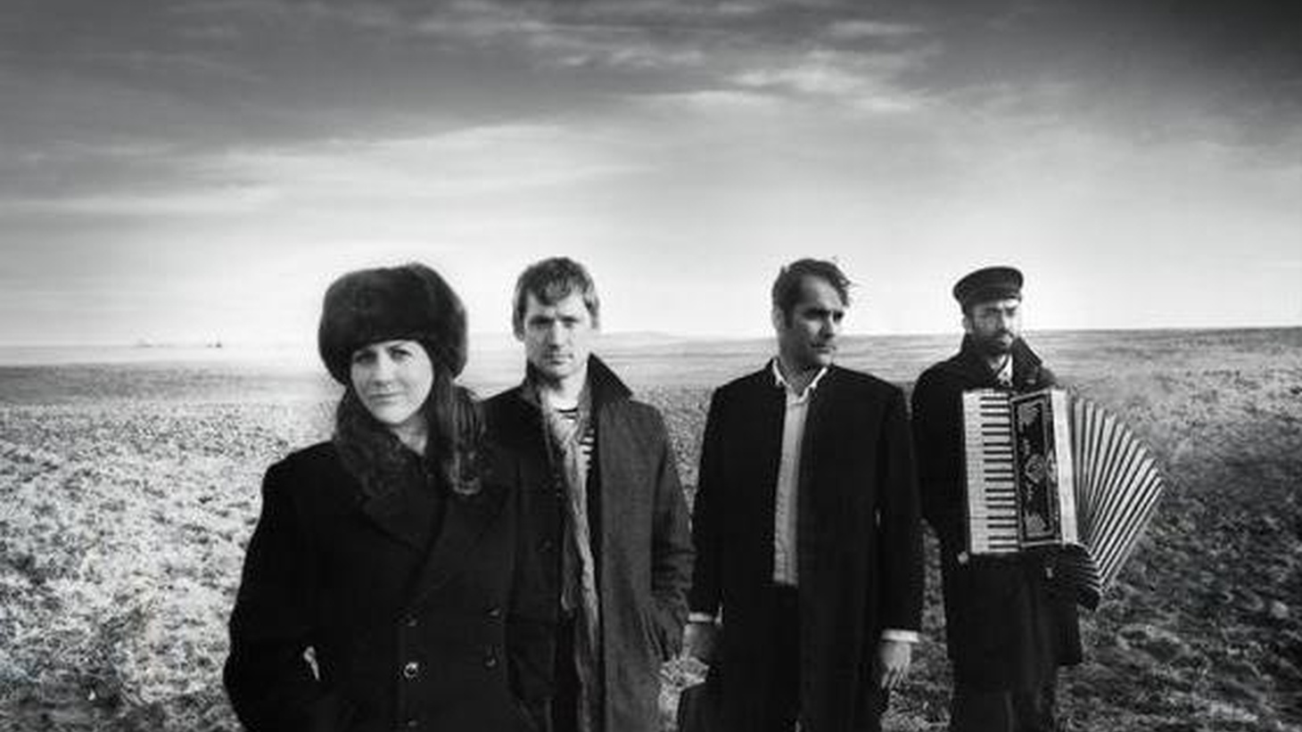 DeVotchKa have a sound that is uniquely their own, combining the flavors of Eastern Europe, dusty desert roads, Mexico and flamenco. They were famously featured in the movie Little Miss Sunshine (thanks to some KCRW airplay), and we're excited to welcome them back to Morning Becomes Eclectic for a live session at 11:15am.