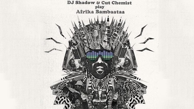 """Last year, DJ Shadow and Cut Chemist embarked on a massive tour honoring hip hop pioneer Afrika Bambaataa by spinning his original vinyl. They filmed the """"Renegades of Rhythm"""" live show when they passed through Oakland and tonight they'll host the world premiere screening at the Downtown Independent Theater. They'll join Jason in studio for a chat at 10am."""