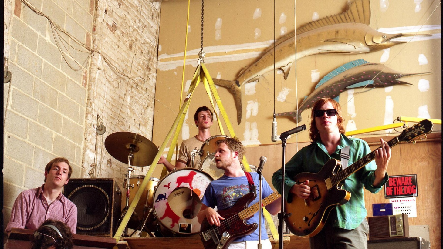 Dr. Dog's exuberant vocal harmonies recall bands of the '60's, yet their overall sound is entirely fresh and invigorating, drawing from Americana, psychedelic pop and more. The Philly-based band have been touring behind their new album for months and we'll hear them at the top of their game when they join Morning Becomes Eclectic at 11:15am.