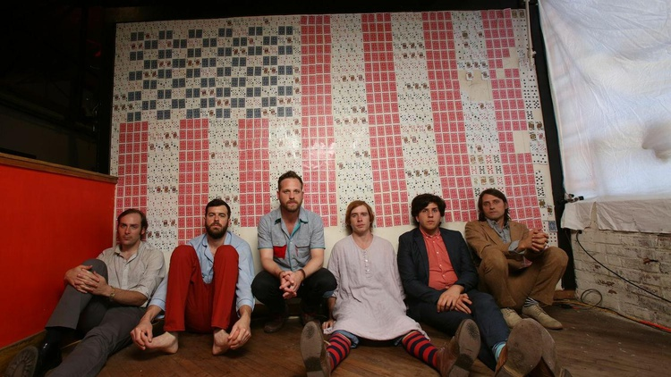 Philly-based favorites Dr. Dog visited our studio to preview selections from their album B-Room back in 2013.