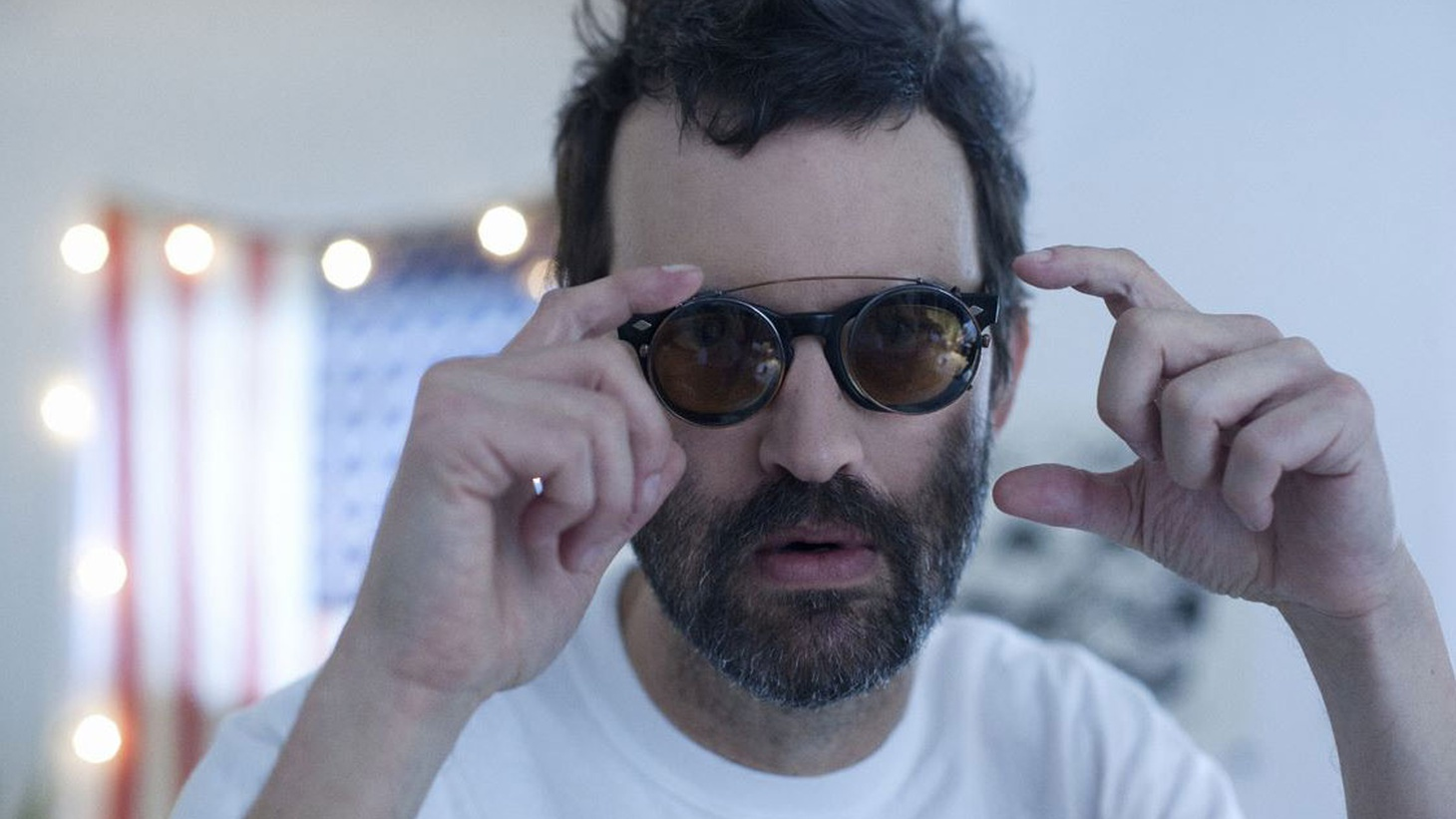 Mark Oliver Everett, the brilliant dark force behind Eels, has a new stripped down and acoustic album.