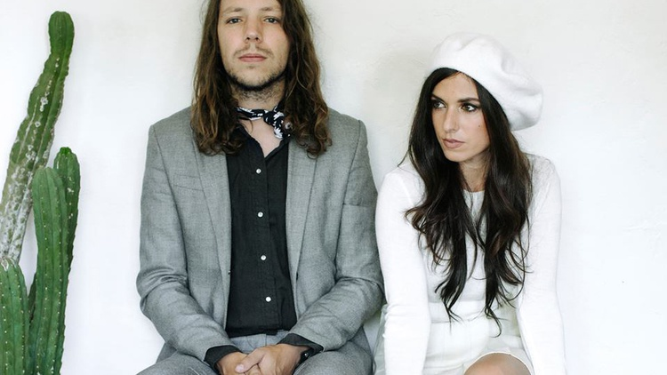 Nashville alt-folk duo Escondido recorded their sophomore album Walking with a Strangerin a home studio and mixed it here in LA.