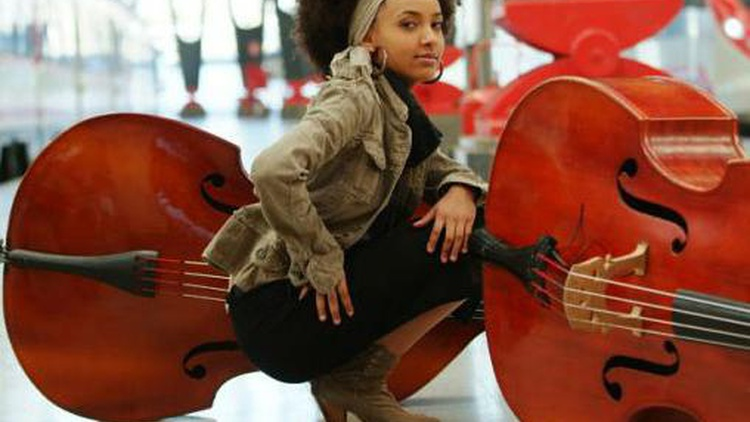Grammy Award-winning bassist and composer Esperanza Spalding leads her large band through whimsically poetic songs and sprawling jams...