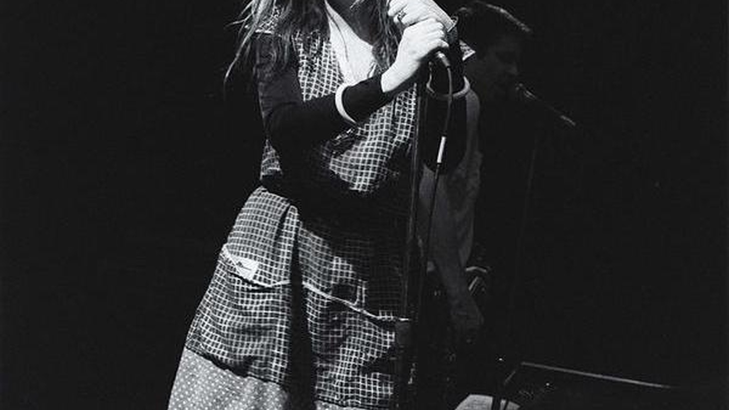 L.A. punk rocker and founding member of X, Exene Cervenka, returns to KCRW armed a batch up poetic songs from her new solo project on Morning Becomes Eclectic at 11:15am.