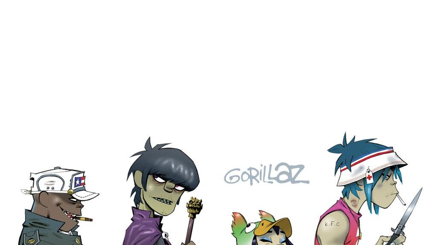 Gorillaz are a fictional band of cartoon characters created by Blur's Damon Albarn and Jamie Hewitt. They may be the world's most successful virtual band, but we'll host them in real life for a live performance and a chat with Jason Bentley on Morning Becomes Eclectic at 11:15am.