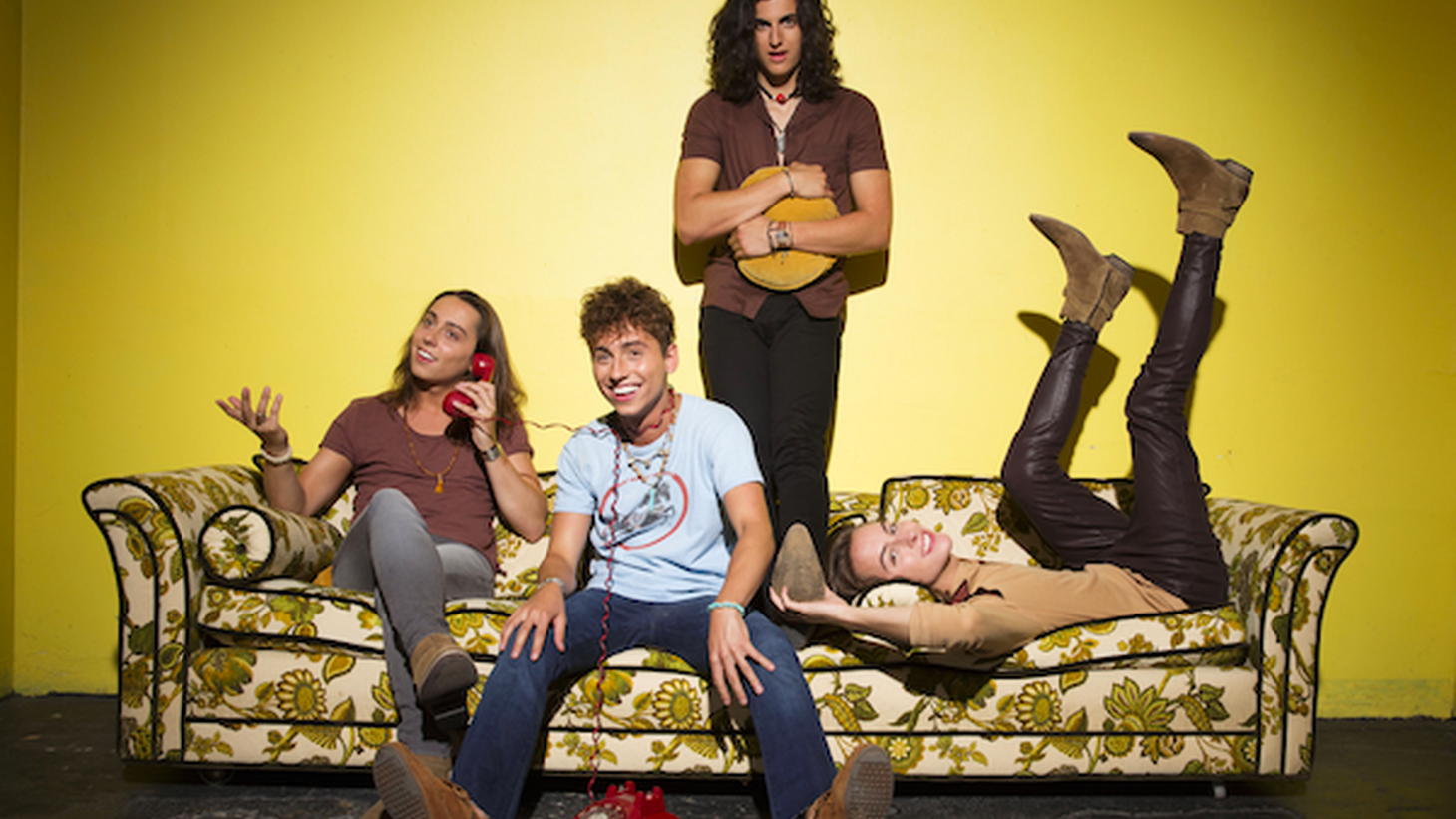 Michigan quartet Greta Van Fleet has seen a quick rise to fame for their classic rock sound. They were the talk of Coachella this year and will bring a blistering live set to our basement studio.