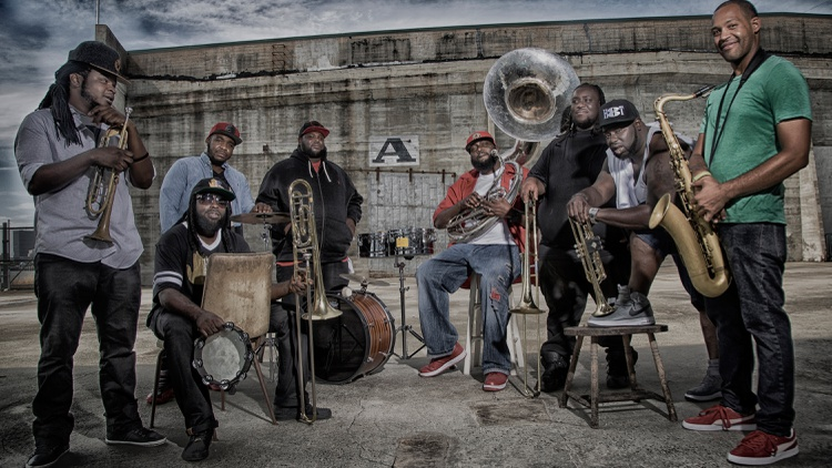 For over 20 years, Hot 8 Brass Band has integrated hip-hop, jazz and funk with traditional New Orleans brass sounds.