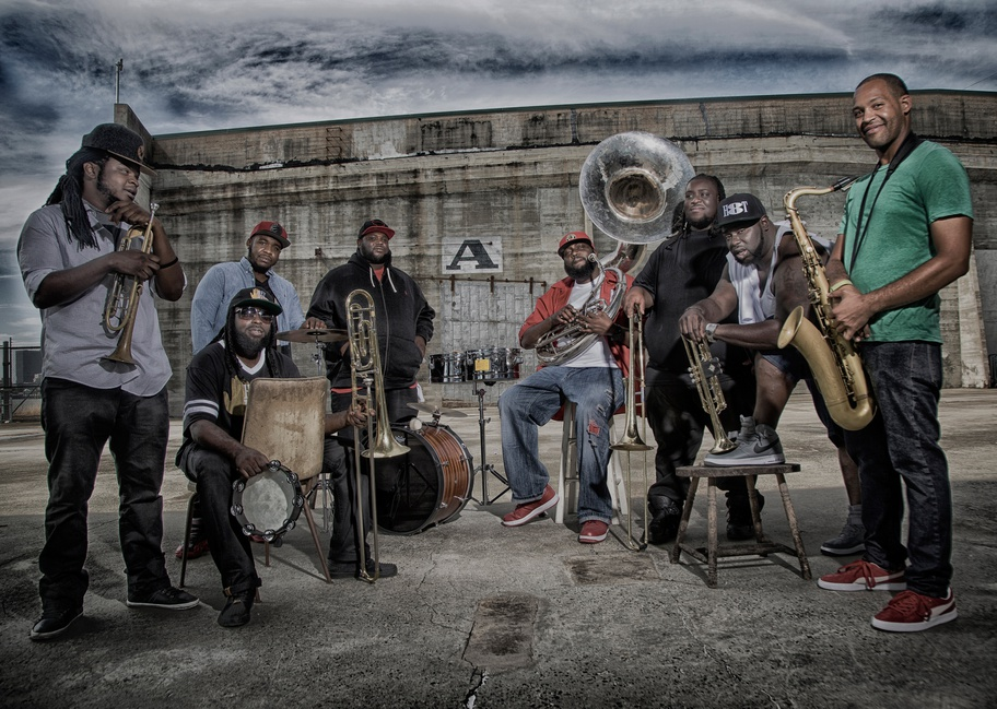 Hot 8 brass band sexual healing free download
