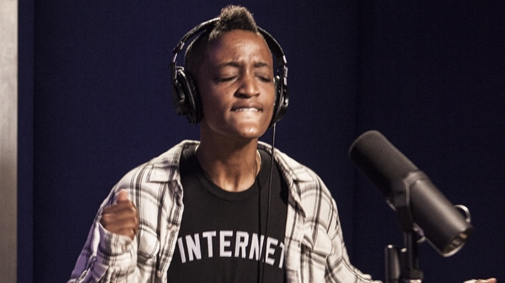 Syd of The Internet at KCRW.