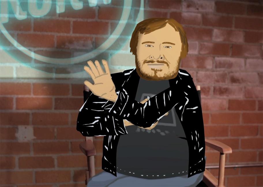 Jack Black finds David Lynch on the new KCRW.com