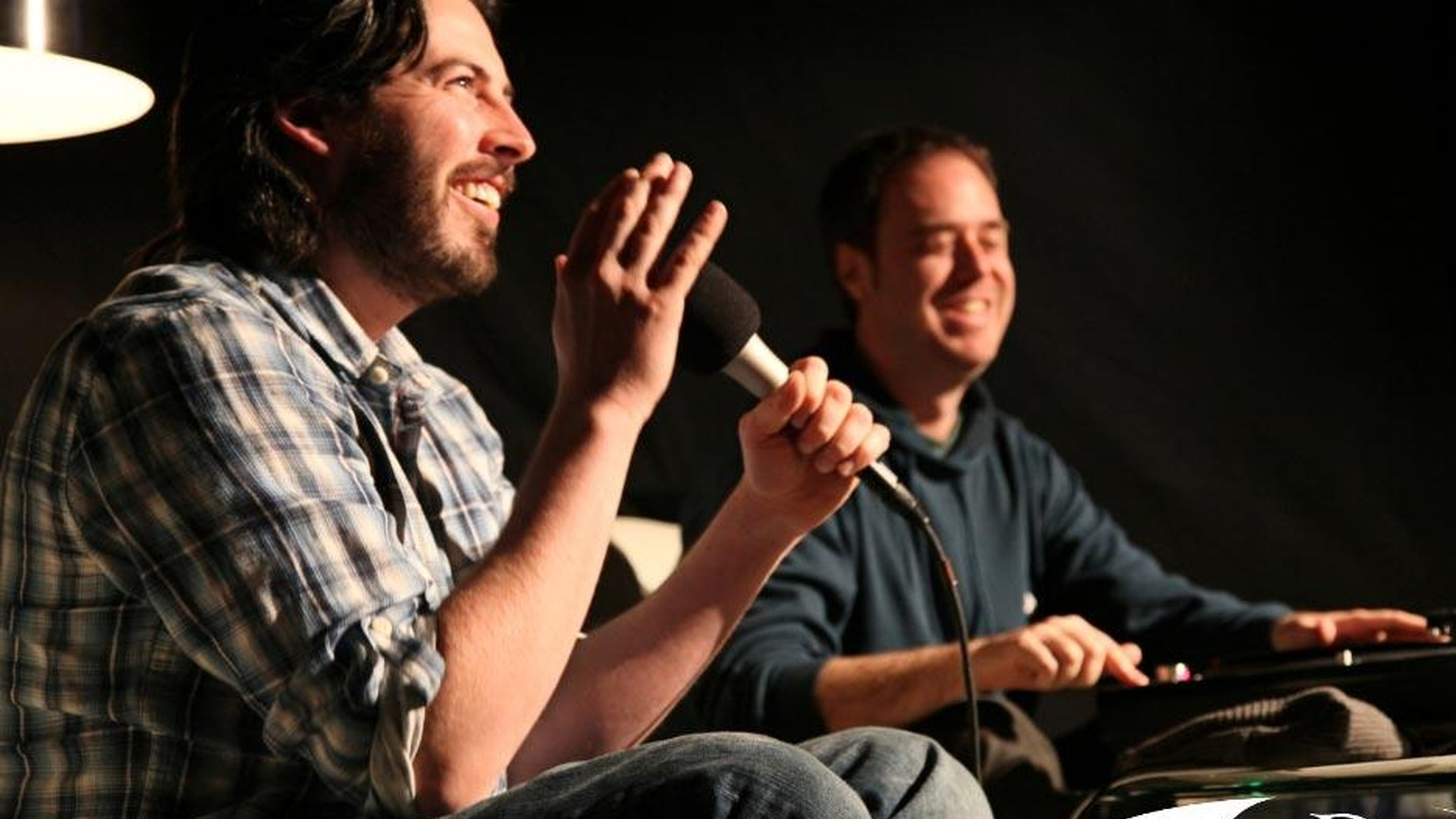 """Director Jason Reitman and turntablist Cut Chemist sat down with Jason Bentley to explore songs that have inspired them for KCRW's """"Conversations through Music."""""""