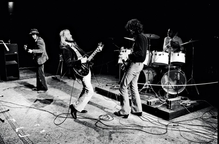 Jamming with Roy Harper and Keith Moon