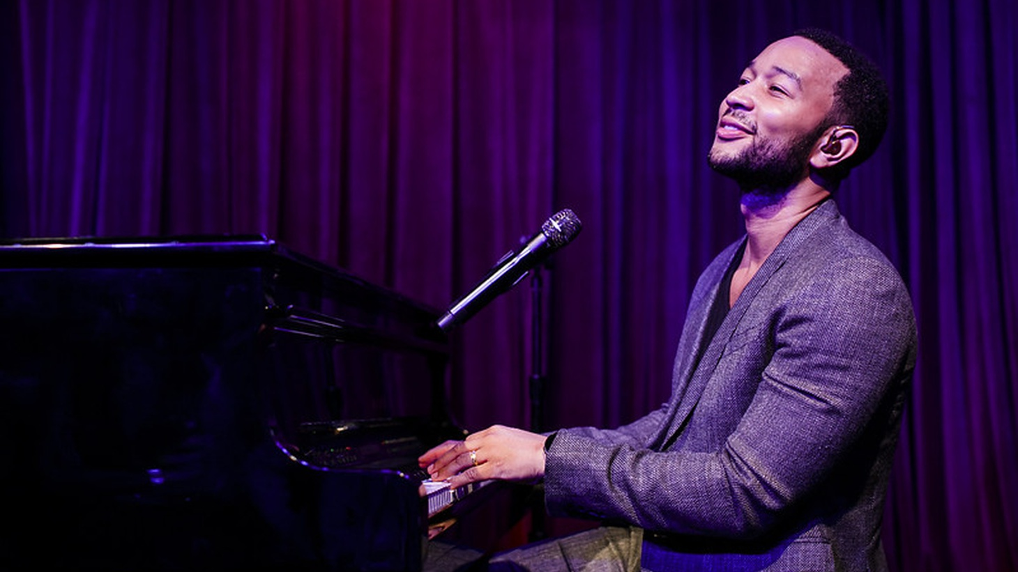 John Legend for this week's Throwback Session. Morning Becomes Eclectic on KCRW.
