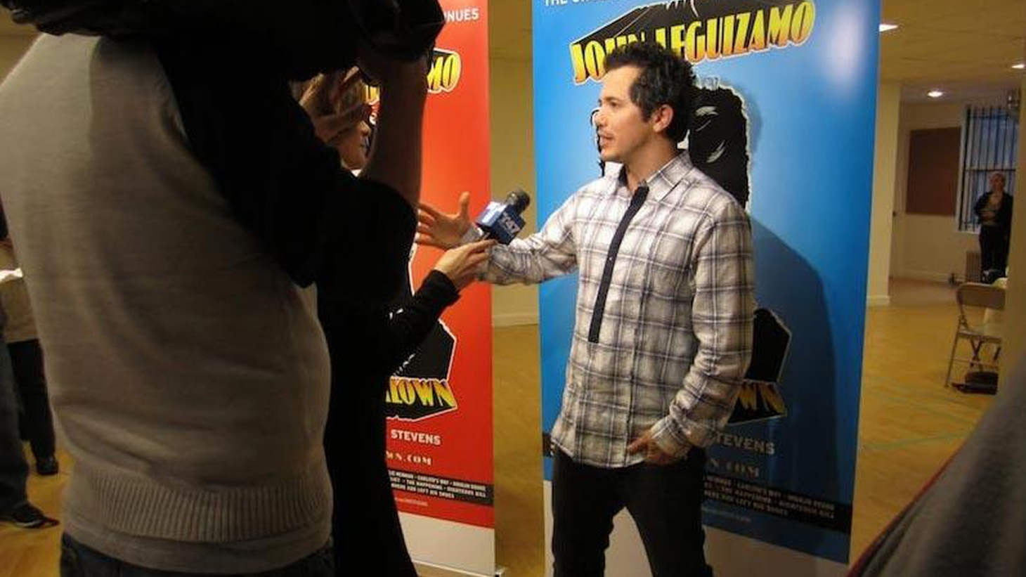 Writer and performer John Leguizamo drops by to talk about his show, Ghetto Klown...