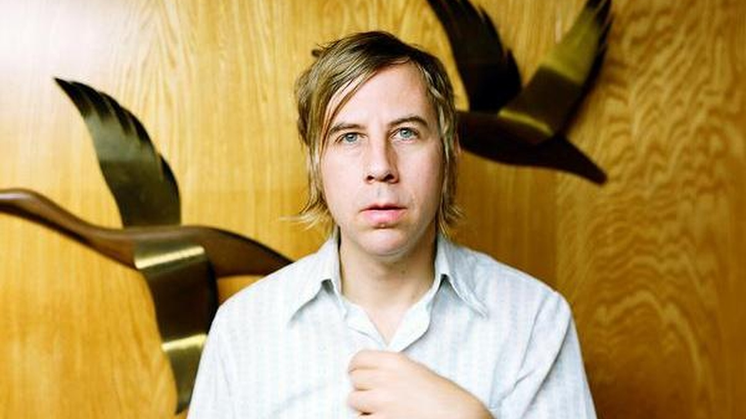 John Vanderslice is a sonic technician who meticulously crafts pop songs in his San Francisco studio, which has become a focal point of the local rock scene. He shares some new creations at 11:15am.