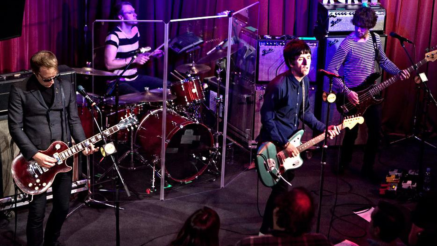 Legendary guitarist for The Smiths, Johnny Marr, performed new songs and several classics as part of KCRW's Apogee series.